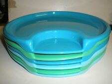 Pampered Chef set of 6 outdoor plastic  party plates