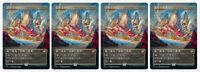 4 Chinese Showcase Alt Art Raugrin Triome Ikoria: Lair of Behemoths (IKO) MTG