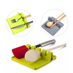 PP Spoon Rest Heat Resistant Kitchen Utensil Holder Storage Organizer