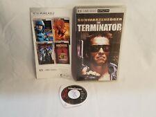 Sony PlayStation Portable PSP UMD Movie Video The Terminator 1 CIB w/Box,Insert