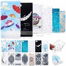 Vogue BF2 Design Soft TPU Case Cover For Sony Xperia M2  M4 M5 Z5 Compact Mini