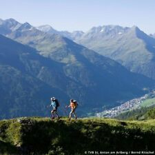 4 od. 5 Tage Sommer Wandern Bike Urlaub 4* Hotel Lux Alpinae Arlberg St. Anton
