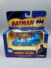 CORGI 1990s Subway Rocket DC Comics Batman 1:43 Scale Diecast