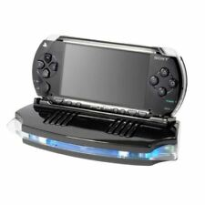 NEW PLAY ON PSP SOUND STATION SPEAKER SYSTEM MINI TRAVEL HANDHELD CONSOLE BLACK