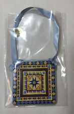 The Danbury Mint The Quilting Ornament Christmas Collection Medallion Quilt New