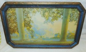 """Vintage Maxfield Parrish """"Daybreak"""" Original Period Frame"""