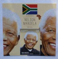 2013 St VINCENT & GRENADINES NELSON MANDELA MEMORIUM MAYREAU STAMP MINI SHEET 2
