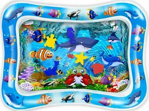 Tummy Time Baby Water Mat Infant Toy Inflatable Play Mat Pad Newborn Boy Girl