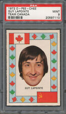1972/73 O-Pee-Chee OPC Team Canada Guy Lapointe PSA MINT 9 *7110