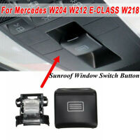 1pc Car Auto Black Skylight Switch Buttons Part For Mercedes-Benz W218 CLS-Class
