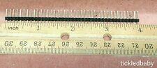 40 Pin Male Header Single Row Straight Connector Arduino PCB Raspberry *USA Fast
