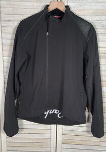 Rapha Women's L Black Waterproof Soft Shell Cycling Jacket