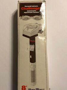 "Challenger Automatic Moisture Proof Aquarium Heater 8"" 75 Watts"