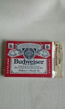 Vintage Budweiser Beer Hallmark Party Invitations 8 Cards & Envelopes NEW