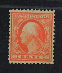 CKStamps: US Stamps Collection Scott#362 6c Washington Mint LH OG Bluish