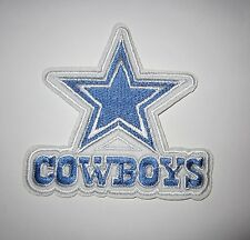 Dallas Cowboys Nfl Iron On Embroidered Patch Applique No Sew *Ships Free*