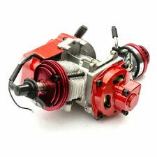 Mini Pocket Minimoto Bike Air Cooled 49cc Racing Engine Red ATV Dirt Dirtbike GP