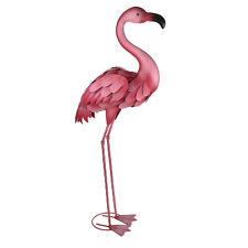 Amazon Metal Flamingo Pink Outdoor Living Garden Ornaments Summer Patio Window