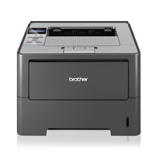 Brother HL-6180DW Duplex and Wireless Refurbished Printer with Toner and Drum