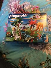 6687 Playmobil Super4 - Lost Island with Alien and Raptor