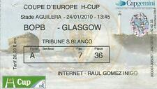 Biarritz Olympique-Glasgow Rugby Heineken Cup 24/01/2010