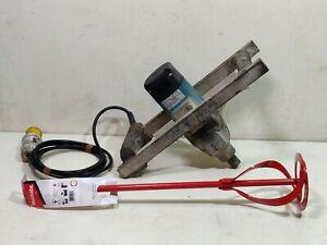MAKITA UT1400 110v Paddle Plaster Mixer Paint Tile Adhesive Render whisk