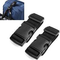 Travel Add-A-Bag Luggage Strap Jacket Trip Straps Baggage Suitcase Belts, 1-4pcs