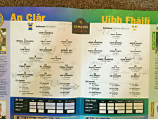 SIGNED 1995 GAA All-Ireland Hurling Final CLARE v OFFALY Programme