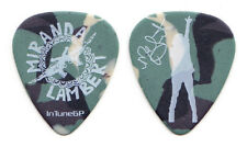 Miranda Lambert Signature Camouflage Guitar Pick - 2010 Roadside Bars Tour