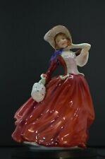 """~8"""" Royal Doulton - """"Autumn Breezes"""" - Pretty Ladies Figurine - #Hn1934"""