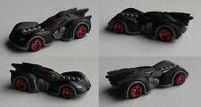 Hot Wheels - Arkham Asylum Batmobile mattschwarz rot verglast / Batman