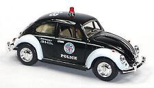 NEU: VW Käfer (1967) Modellauto 1:32 Police Beetle USA Polizei 12,5cm KINSMART