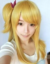Fairy Tail Lucy Heartphilia Goldblond Mode Cosplay Perücke Wig