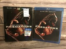 Predators Blu Ray, DVD w/slipcover Adrien Brody, Laurence Fishburne,Topher Grace