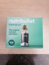 NutriBullet 600 Series Blender Starter Kit - Grey (NBLSK5)