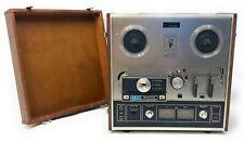 Vintage Akai Reel to Reel - X-201D -Tested Wood Case