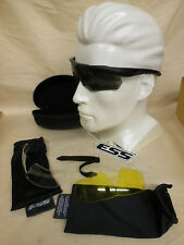 Oakley ESS Crossbow Ballistic Protective Eye Shields w/ extra lenses & case etc.