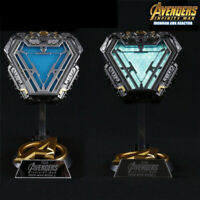 The Avengers Iron Man Arc Reactor MK50 1/1 Prop LED Light  Model Cosplay Props