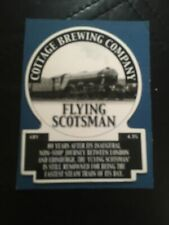 Cottage Brewery Flying Scotsman Pump Clip