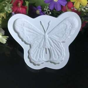 Butterfly Silicone Fondant Mold Cake Decor Bakeware Border Lace Chocolate Mould