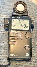 Sekonic L-508 Zoom Master - Digital Light Exposure Meter w/Case - Free Shipping