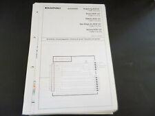 Original Service Manual Blaupunkt  Autoradio augsburg Essen Dakota San Diego...