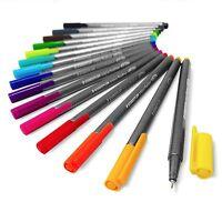 Staedtler Triplus Fineliner Pens - Metal Gift Tin of 15 Brilliant Colours 0.3mm
