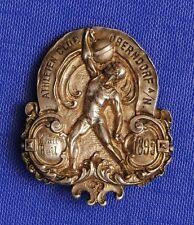 "1895 GEWICHTHEBEN ABZ. ATHLETENKLUB OBERNDORF A./N. ""KRAFT HEIL"" NADEL FEHLT"