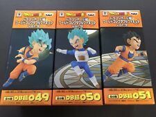 Dragon Ball Super World Collectable Figure WCF Vol.9 9 3 Set Goku Vegeta Gohan