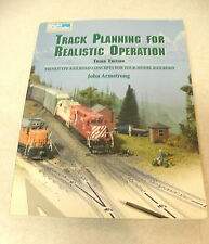 JOHN ARMSTRONG MODEL RAILROAD BOOK TRACK PLANNING FOR REALISTIC OPERATION