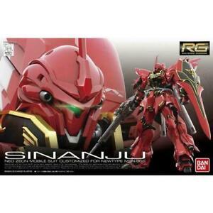 Bandai RG 1/144 MSN-06S Sinanju Gundam Gunpla Model Kit