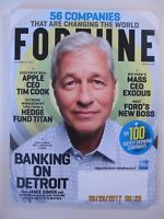 2 Fortune magazines - September 15th & August 1st, 2017 -  2017 Global 500 issue