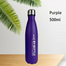 500ml Stainless Steel Sport Water Bottle Cup Flask Double Walled Thermos Outdoor