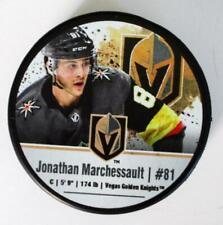 Jonathan Marchessault NHL Photo Vegas Golden Knights Hockey Puck